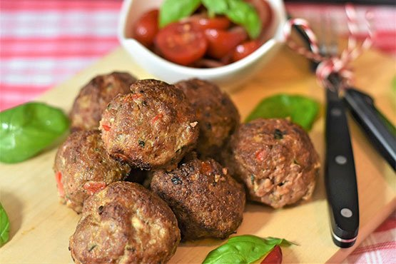 Easy recipes for meatballs. Tasty