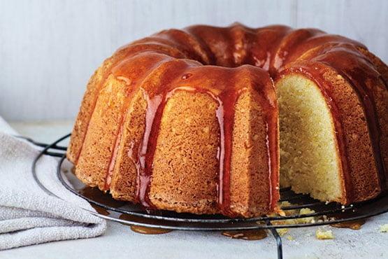 Bundt cake recipes . Lemon-Buttermilk Bundt Cake