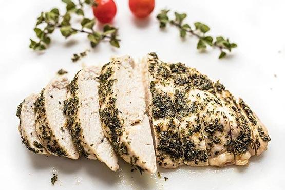 Easy chicken recipes . Garlic Herb Baked Chicken Breast