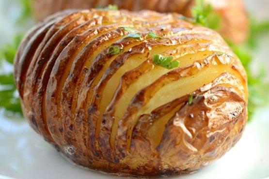 Hasselback potatoes recipes . hasselback potatoes