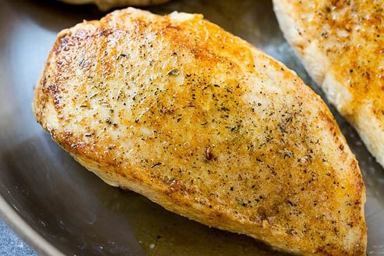 Recipes with chicken . Baked Lemon Chicken