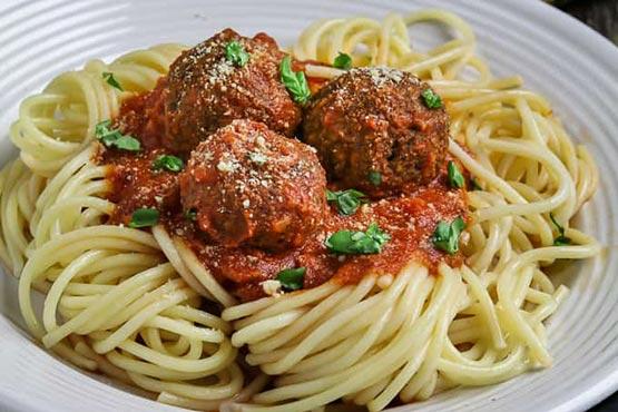 Recipes with meatballs . Vegan Meatballs