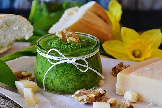 Recipes with pesto