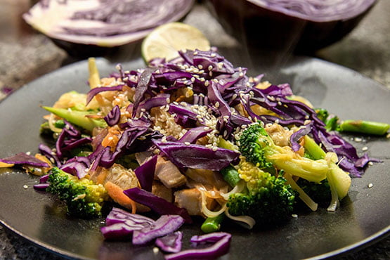 Recipes with red cabbage. It's delicious!