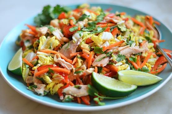 Recipes with shredded chicken . Vietnamese Shredded Chicken Salad