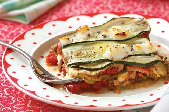 Recipes with zucchini . Zucchini Lasagna
