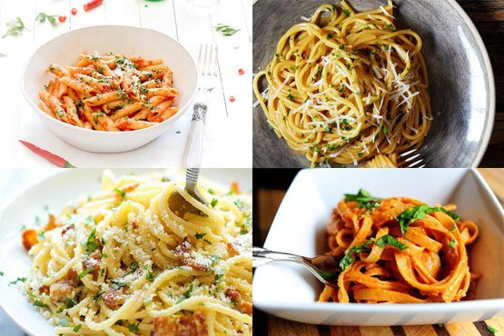 Easy recipes with pasta