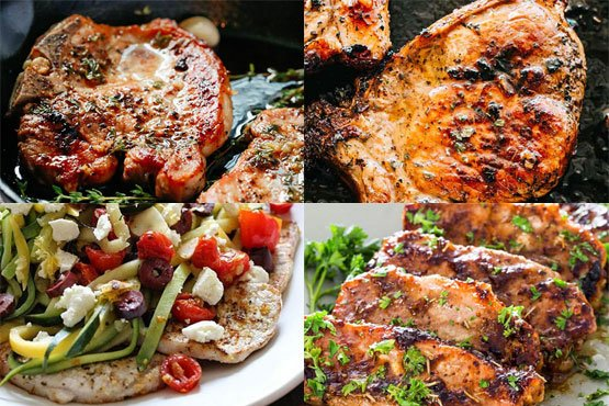 Easy recipes with pork chops. Incredibly tender.