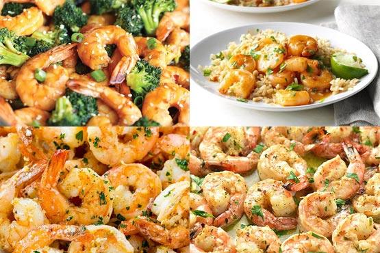 Easy recipes with shrimp
