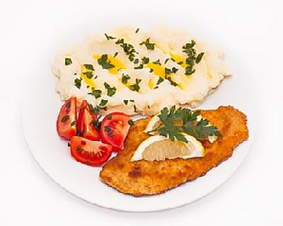 Ground Chicken Schnitzel