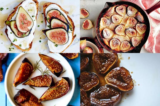 Recipes with figs. Super simple and quick to make