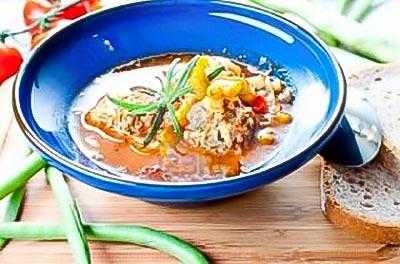 Chicken Albondigas Soup