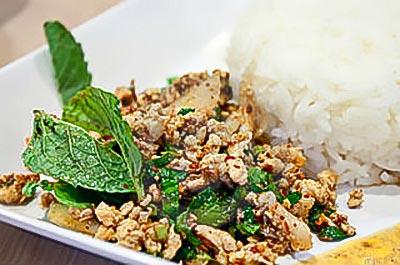 Gai Pad Krapow Recipe (Basil ground chicken)