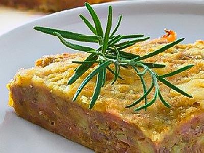 Ground Chicken Meat Cake
