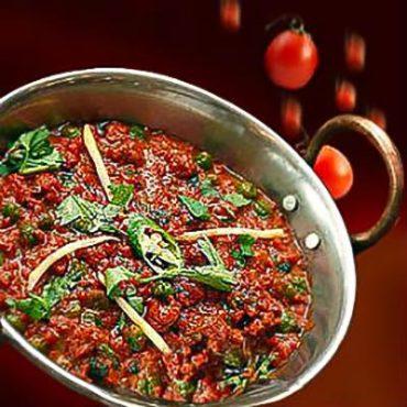 Murgh Keema (Indian Ground Chicken Curry)