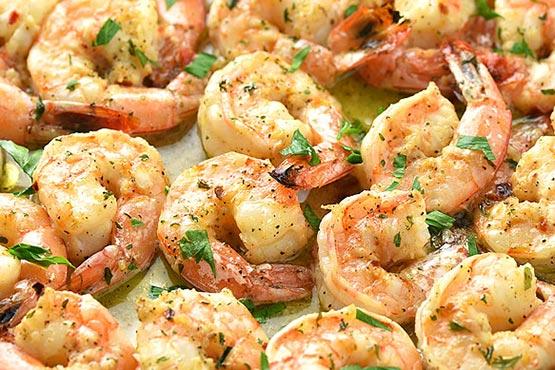 Easy recipes with shrimp . Easy Garlic Shrimp recipe