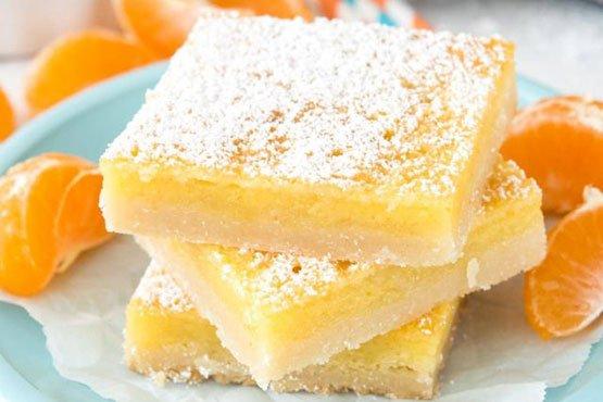 Recipes with orange . Orange Dream Bars