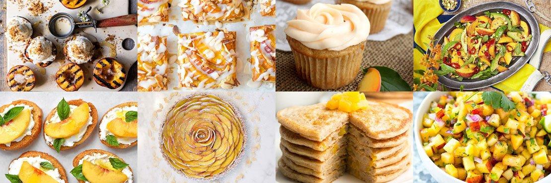 Recipes With Peach Amazing Summer Dishes Singlerecipe Com