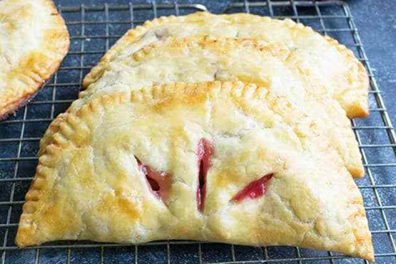 Recipes with plums . Plum Turnovers