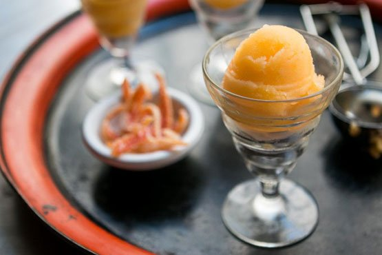 Recipes with Tangerine . Tangerine Sorbet