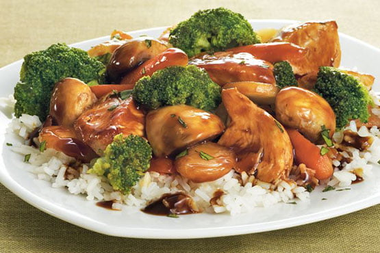 Recipes with Tangerine . Tangerine Chicken Stir-Fry