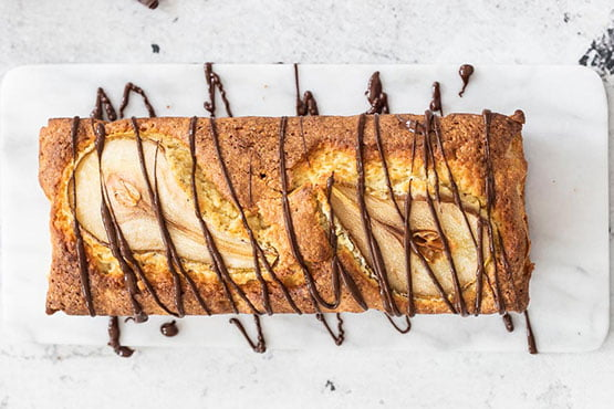Best pear cake recipes . Cake with pear and chocolate