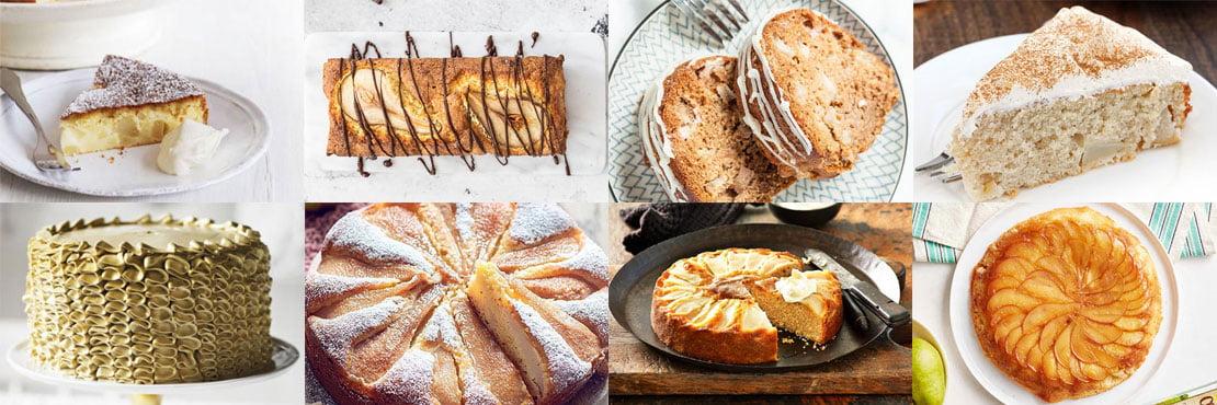 Best pear cake recipes