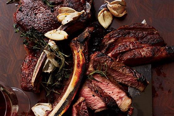 Best steak recipes . Butter-Basted Rib Eye Steaks