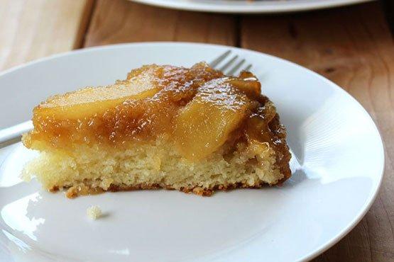 Pear cake recipes . Pear Upside-Down Cake