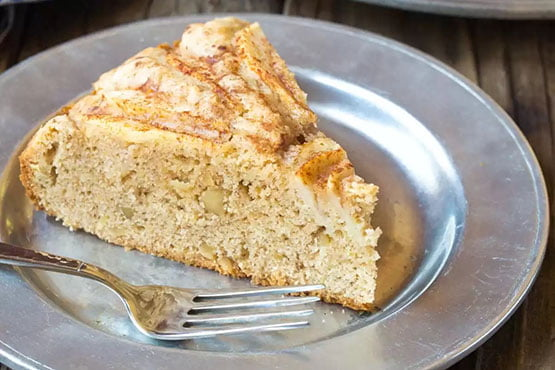 Pear cake recipes . Spiced Walnut Pear Cake Recipe