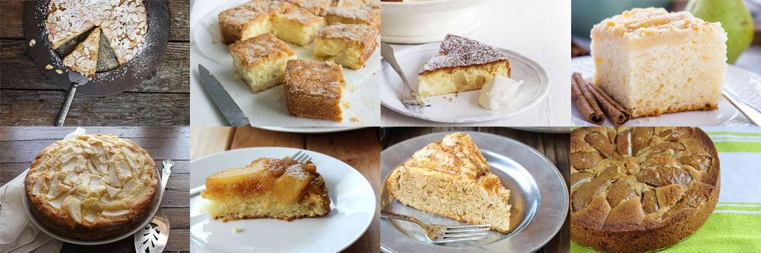 Pear cake recipes