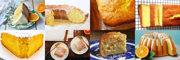 Orange cake recipes. Soft and fluffy