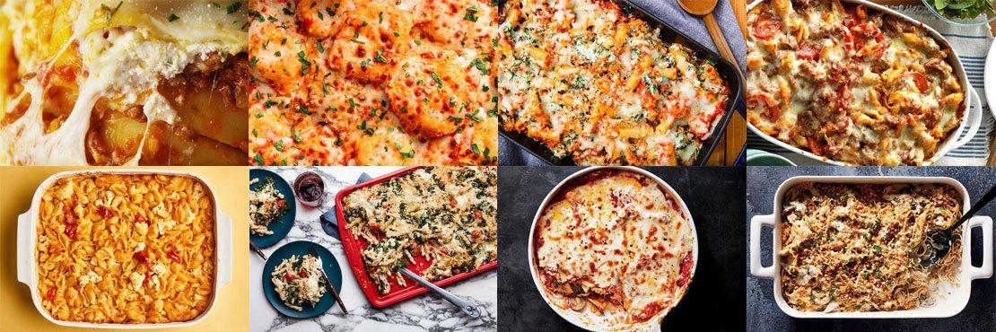 Baked pasta recipes