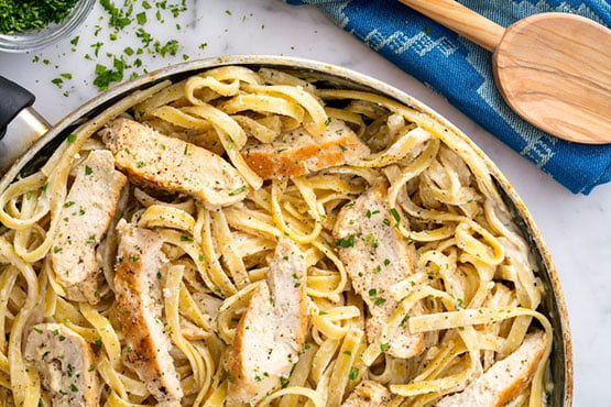 Best comfort food recipes . Perfect Chicken Alfredo