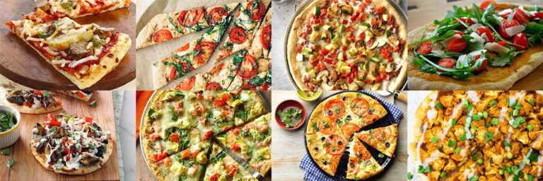 Best vegetarian pizza recipes. Pizza heaven.