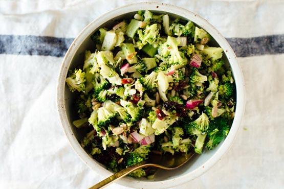 Broccoli salad recipes . Favorite Broccoli Salad