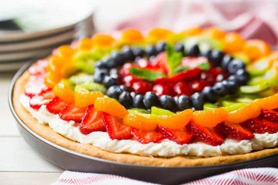 Fruit pizza recipes . Fruit Pizza