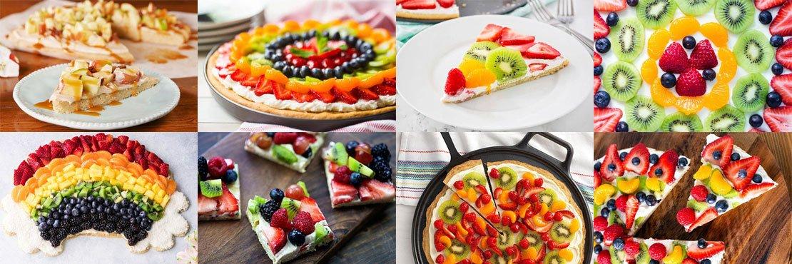 Fruit pizza recipes