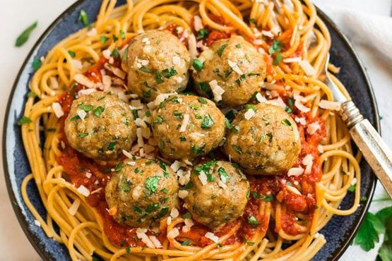 Healthy meatballs recipe easy and delicious . Baked Turkey Meatballs