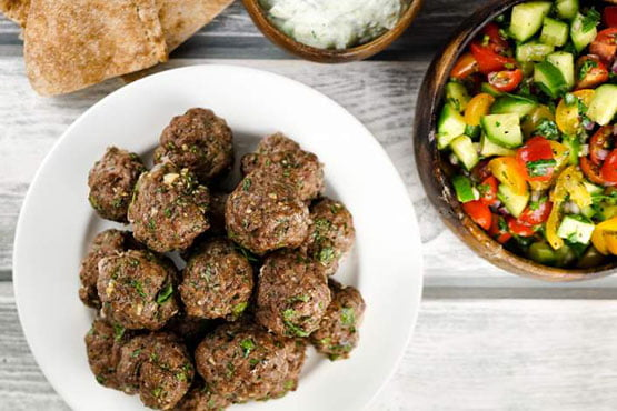 Healthy meatballs recipe easy and delicious . Healthy Greek Meatballs
