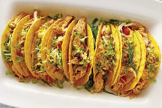 Instant pot recipes . Salsa Chicken Tacos