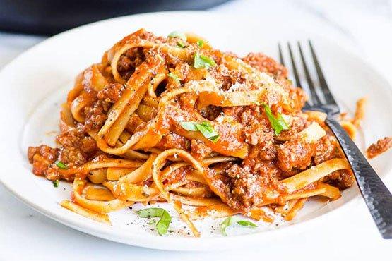 Instant pot recipes . Instant Pot Spaghetti
