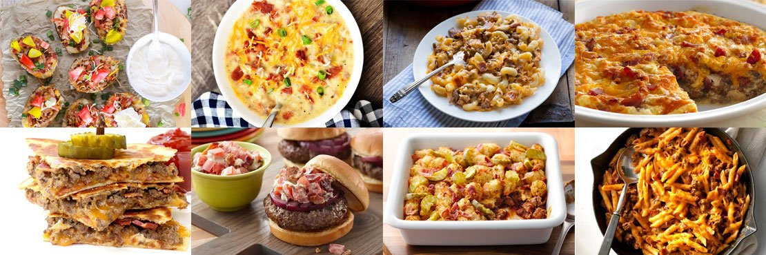 Recipes with hamburger meat and bacon