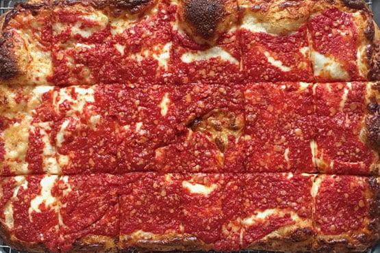 Sicilian pizza recipes . Sunday Square