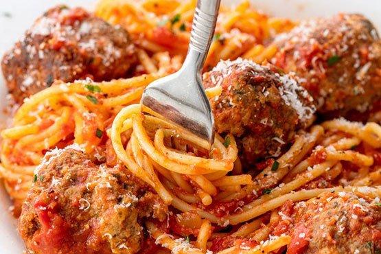Spaghetti with meatballs recipes . Spaghetti and Meatballs