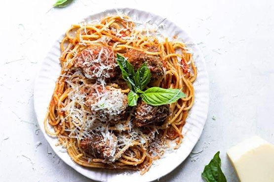 Spaghetti with meatballs recipes . Easy Spaghetti And Meatballs