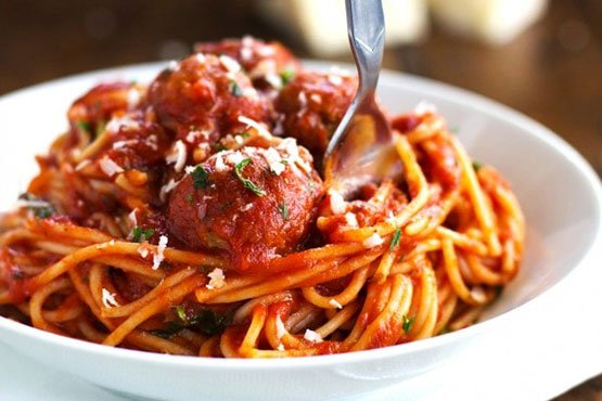 Spaghetti with meatballs recipes . skinny spaghetti and meatballs