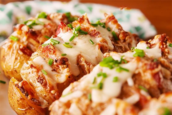 Best baked potato recipes. Bacon-Stuffed Potatoes