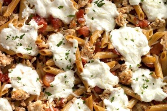 Creamy Skinny Pasta Casserole