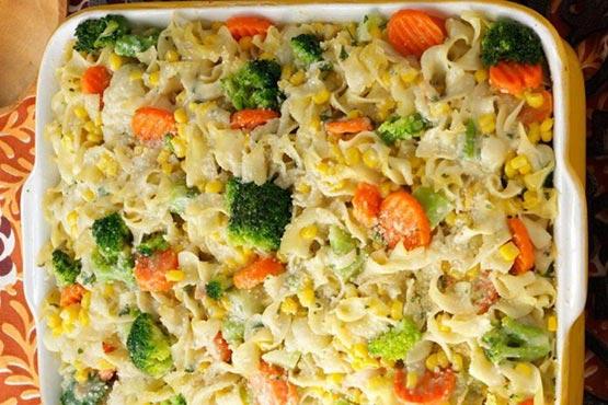 Vegetable Noodle Casserole